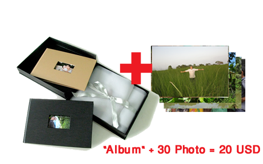 One Album with 30 Picture Package