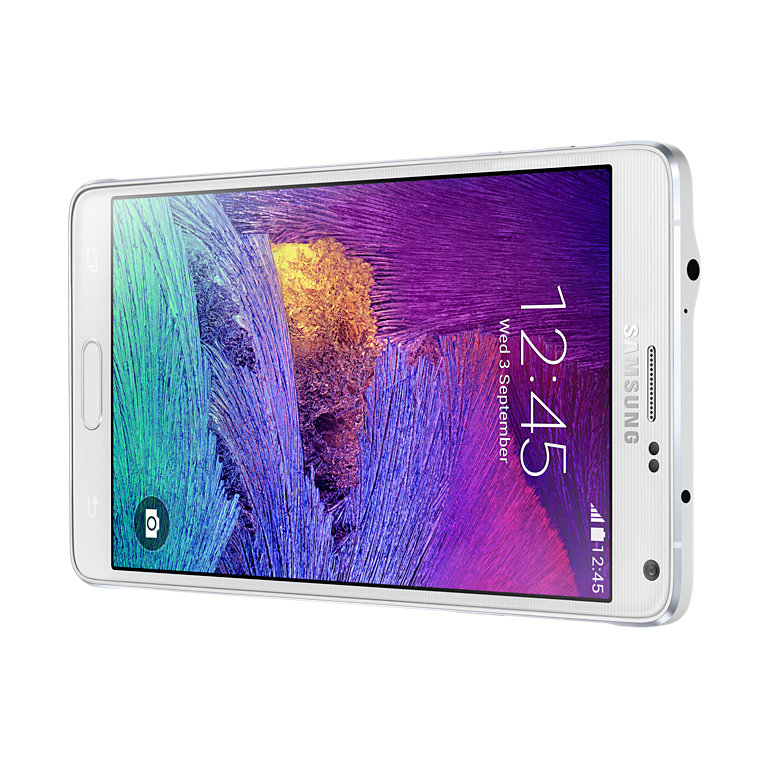 Note 4 Frosted white