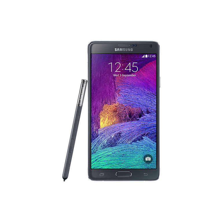 Galaxy Note 4 , Charcoal Black